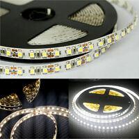 16.4FT/ 5M 3528 SMD 600LED Non-Waterproof Strip Light+DC Connector /12V 2A Power