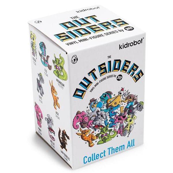 Kidrobot The Outsiders Blind Box Mini Figure 4 Blind Boxes NEW Toys 4 Figures