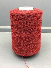 200G RED MIX 2/18NM LAMBSWOOL YARN N8060