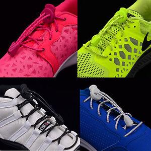 Elastic-Laces-Lock-Laces-No-Tie-Triathlon-Jogging-Shoelace-Elasticated-Lace