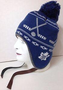 new CCM TORONTO MAPLE LEAFS BEANIE Pom Knit Peruvian Hat Men Women ... ce3269b8a72e