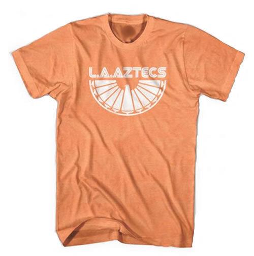 La Tshirt, rétro aztèques Football Tshirt, La soccer, NASL, George Best, New York Cosmos orange 3de519