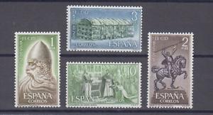 ESPANA-1962-MNH-NUEVO-SIN-FIJASELLOS-SPAIN-EDIFIL-1444-47-EL-CID