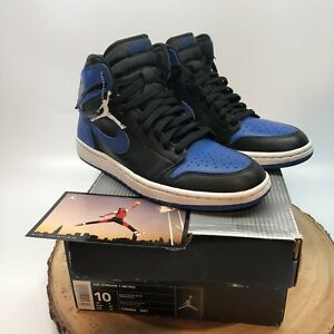check out d043d 16463 Image is loading 2001-Nike-Air-Jordan-Retro-I-Royal-Black-