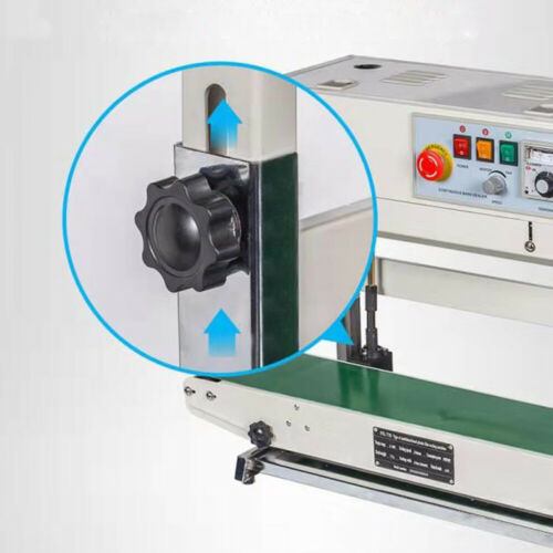 Stainless Steel Automatic Continuous Band Sealer Vertical Bag Sealing Machine US