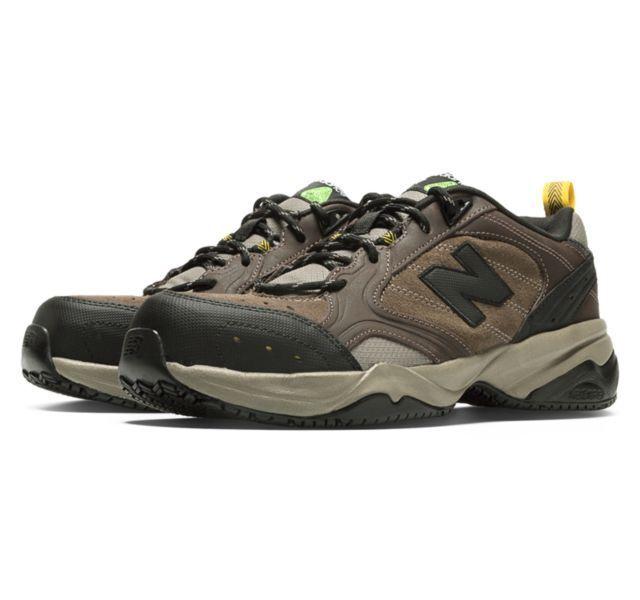 Steel Toe 627 Suede Shoes