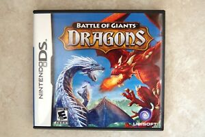 jogo battle of giants dragons - nintendo ds
