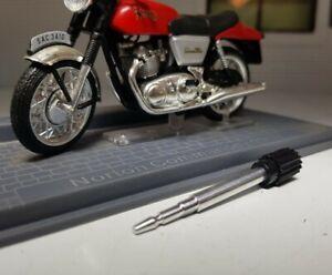 MOTORCYCLE SSM SPEEDOMETER TRIP RESET KNOB short