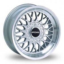 """4 X 15 """"Ronal Ls Plata Pulido, ruedas de aleación-wba5486"""