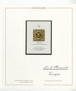 Hamburg Germany Philatelic Stamp Presentation Classic Rare
