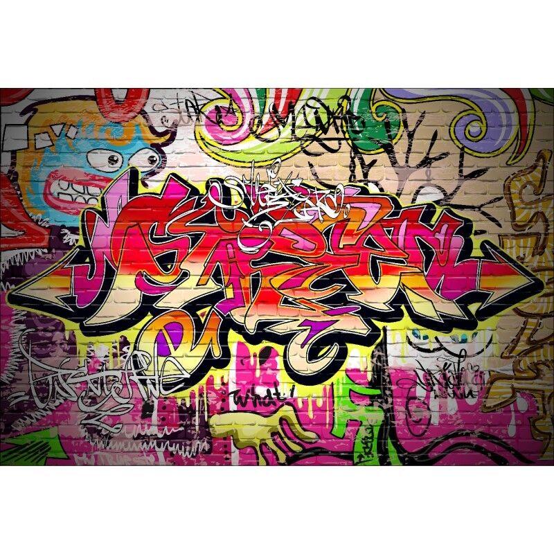 Stickers muraux géant géant muraux déco : Graffiti 11126 b79c71