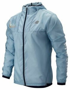 New-Balance-Men-039-s-2019-NYC-Marathon-Light-Packjacket-Blue