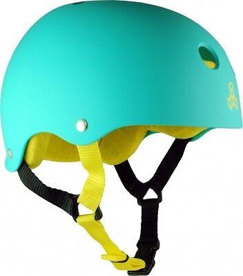 Teal Triple 8 Roller Derby Skate Helmet - Skating Protective Gear