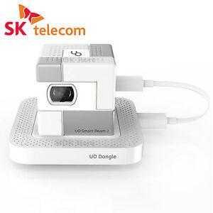 Sk Uo Smart Beam 2 White Pico Portable Mini Projector For