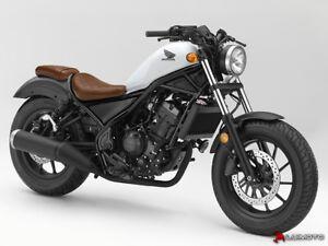 Image Is Loading Honda Rebel 300 500 2017 2019 Rider Seat