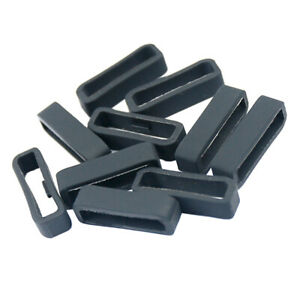 10-Bulk-Fastener-Ring-for-Garmin-Forerunner-235-22mm-Silicone-Security-Loop