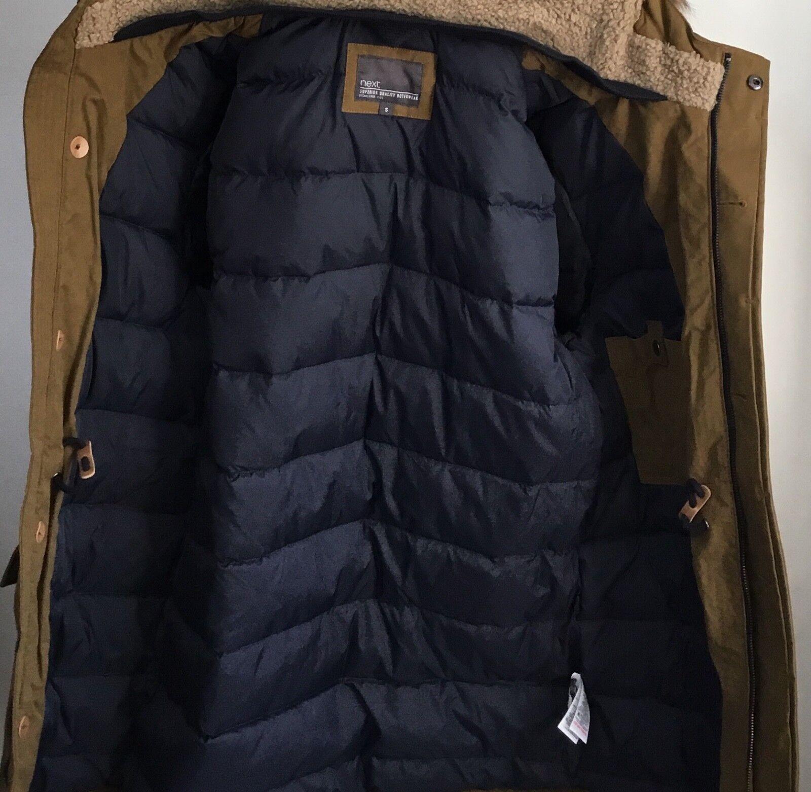 Fill S Homme Parka Prochain Premium Rrp Veste Taille Down £ Sable EqOAaw