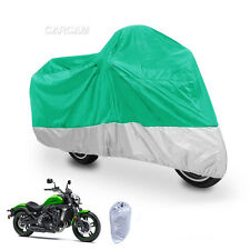 XXL GreenMotorcycle Cover For Kawasaki VN Vulcan Classic MeanStreak Nomad 1600