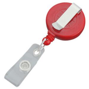 5x-Retractable-Reel-Recoil-ID-Badge-Lanyard-Tag-Key-Card-Holder-Belt-Clip-O-I0S1