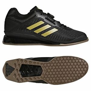 finest selection 92975 83d30 ... Adidas-Leistung-16-2-0-Halterophilie-Chaussures-Dore-