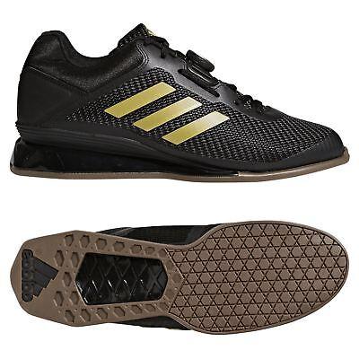 Adidas Leistung 16 2.0 Haltérophilie Chaussures Noir or Training Stabilité Levée | eBay