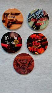 Gun Enthusiast Ceramic Car Coasters mix or match