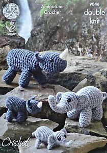 Elephant Amigurumi - Free Crochet Pattern • Craft Passion   300x210