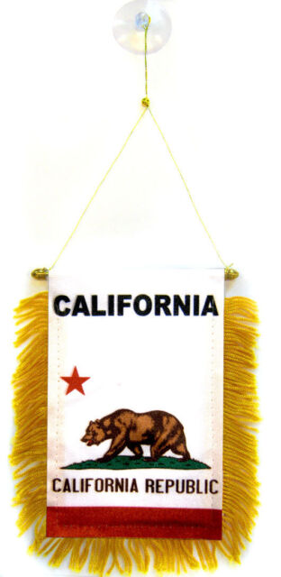 """Wholesale lot 3 State of Wyoming Mini Flag 4/""""x6/"""" Window Banner w// suction cup"""