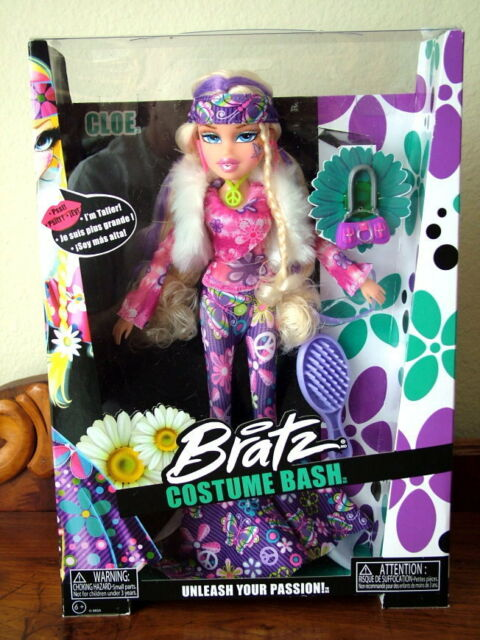 Bratz CLOE Costume Bash Collection – 1970's Flower Power Style - NEW! BEAUTIFUL!