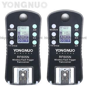 Yongnuo-RF-605-N-Wireless-Flash-Trigger-for-Yongnuo-YN-560-III-RF-603-II-Nikon