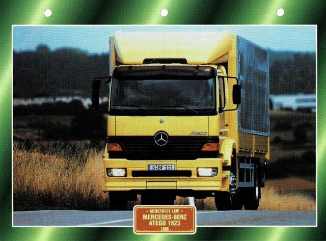 Mercedes-Benz Atego 1823 1998 Infokarte