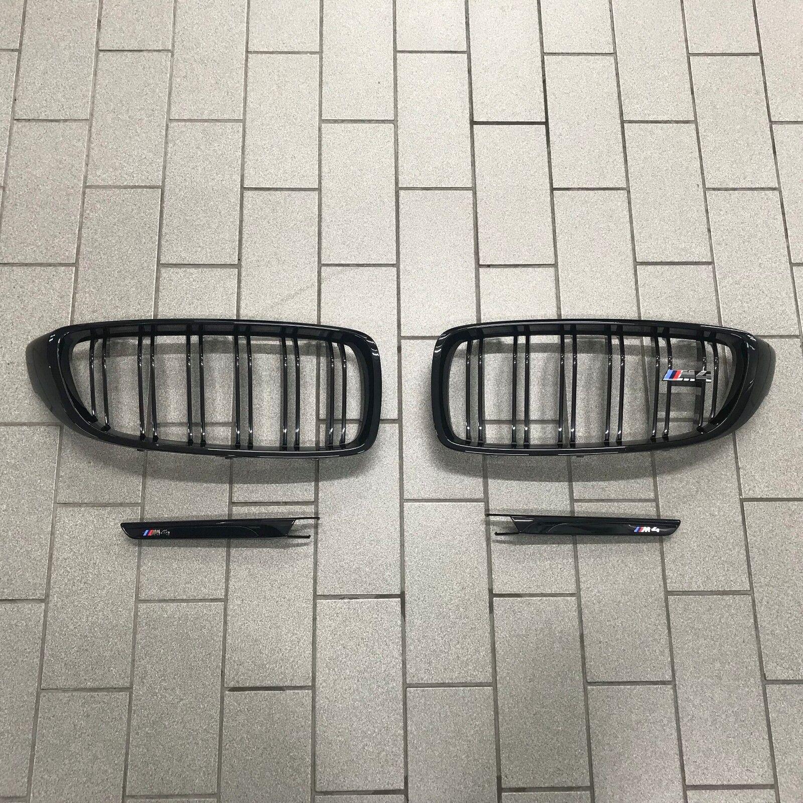 BMW F32 F33 F80 F82 F83 M3 M4 Gloss Black Kidney Grille Grilles Double Spoke UK
