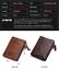 Men-Women-Genuine-Leather-Cowhide-Bifold-Wallet-Holder-Credit-Card-Retro-Purse miniature 5