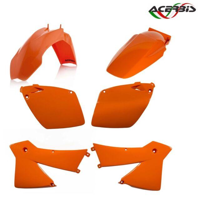 ACERBIS Set Fairings Plastic Orange For KTM 525 SX 4T 2003-2003