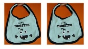 """(2) Baby Bid 0-12 Months """"Little Monster"""" - Brand New with Tag"""