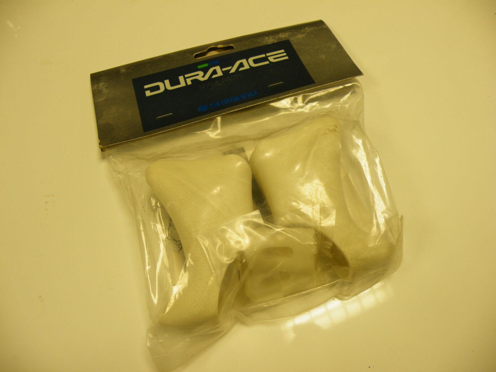 Shimano Dura Ace 9801 white aero leverhoods,new in bag