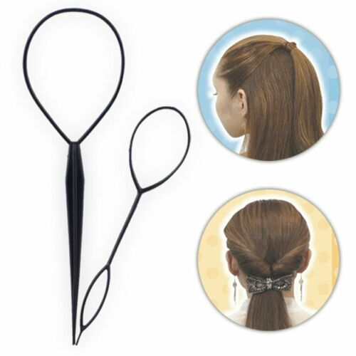 Hair Loop Styling Tool Ponytail Bun Maker Hair Bun Maker Clip Hair Braid