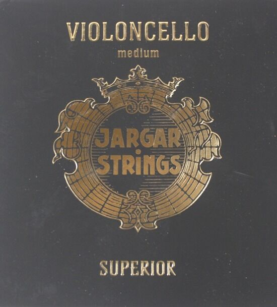 Genuine Jargar Superior Cello String Set  4 4  -Tungsten G and C