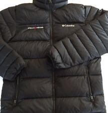Columbia Mens Puffer Jacket Black w/ Stella Artois Logo Size M