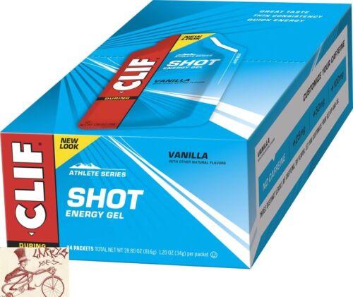 CLIF SHOT GEL--VANILLA--BOX OF 24