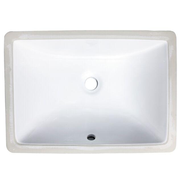 14x11 Undermount Vanity Bathroom Sink