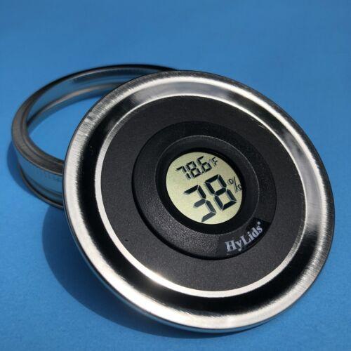 Curing bocal verre Manson Jar Humidité//Température Numérique 7G//14G//28G récipient hermétique