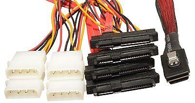 CineRAID SFF-8087 to SFF-8482 Internal Mini SAS w//Power LSI Areca Adaptec