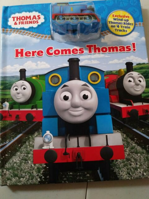 Thomas & Friends: Here Comes Thomas! Wind Up Thomas Rides Tracks NEW