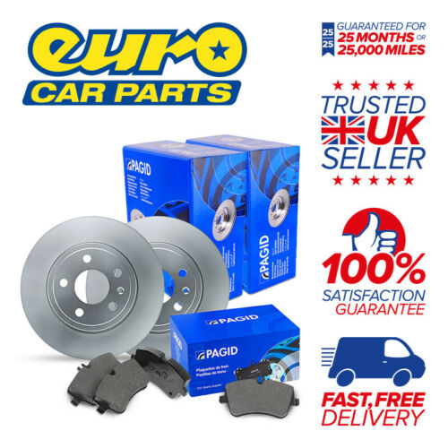 2x Disc 1x Pad Set - PORSCHE 911 964 Pagid Front Brake Kit