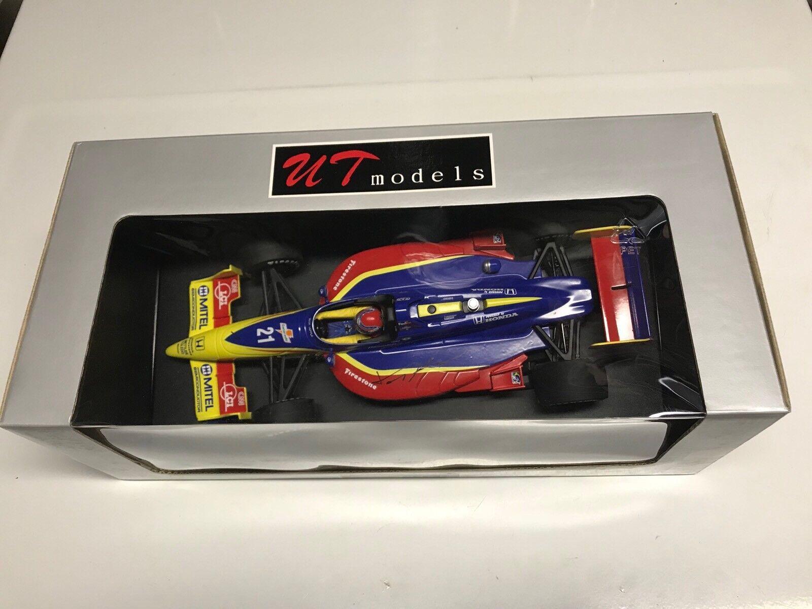 UT MODELS Tony Kanaan signé Tasman Motorsports LCI Reynard Cart Indy 1 18 Nouveau en Boîte +