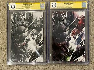 Dark-Nights-Metal-6-CGC-SS-9-8-Virgin-Set-Signed-by-Francesco-Mattina