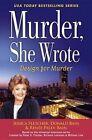Murder, She Wrote: Design for Murder by Donald Bain, Renee Paley-Bain, Jessica Fletcher (Hardback, 2017)