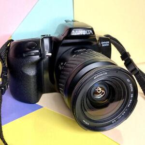 Minolta Dynax 500si mit/28-80mm AF ZOOMOBJEKTIV Film getestet. Lomo Retro Student?