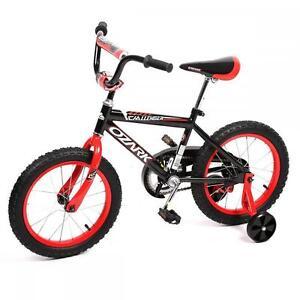 "NEW 16"" Steel Frame Children BMX Kids Bike Bicycle With Training Wheels"